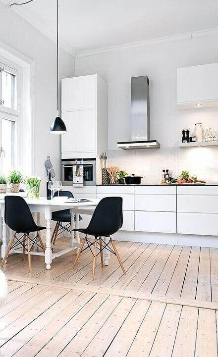 Minimalist Kitchens - The Scandinavian Way 1