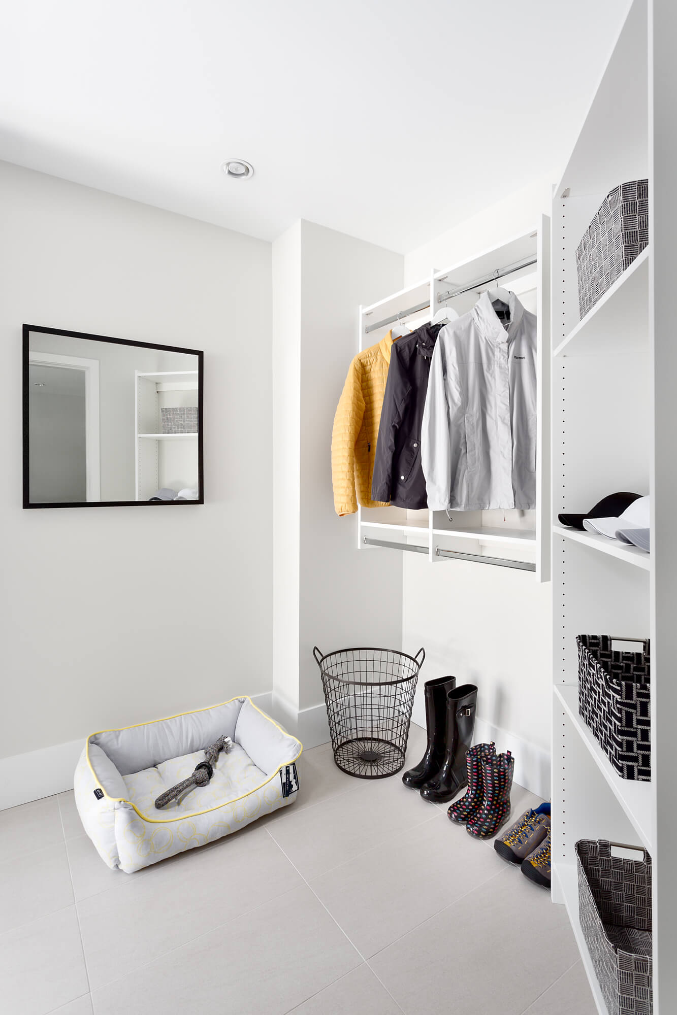 Walk-in with Custom Shelving