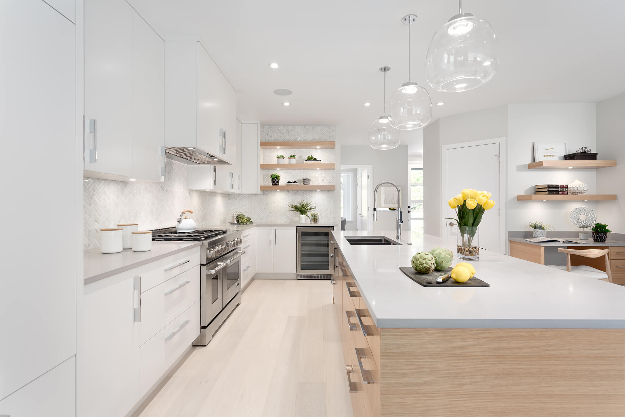 White Kitchen Cabinets, Vancouver