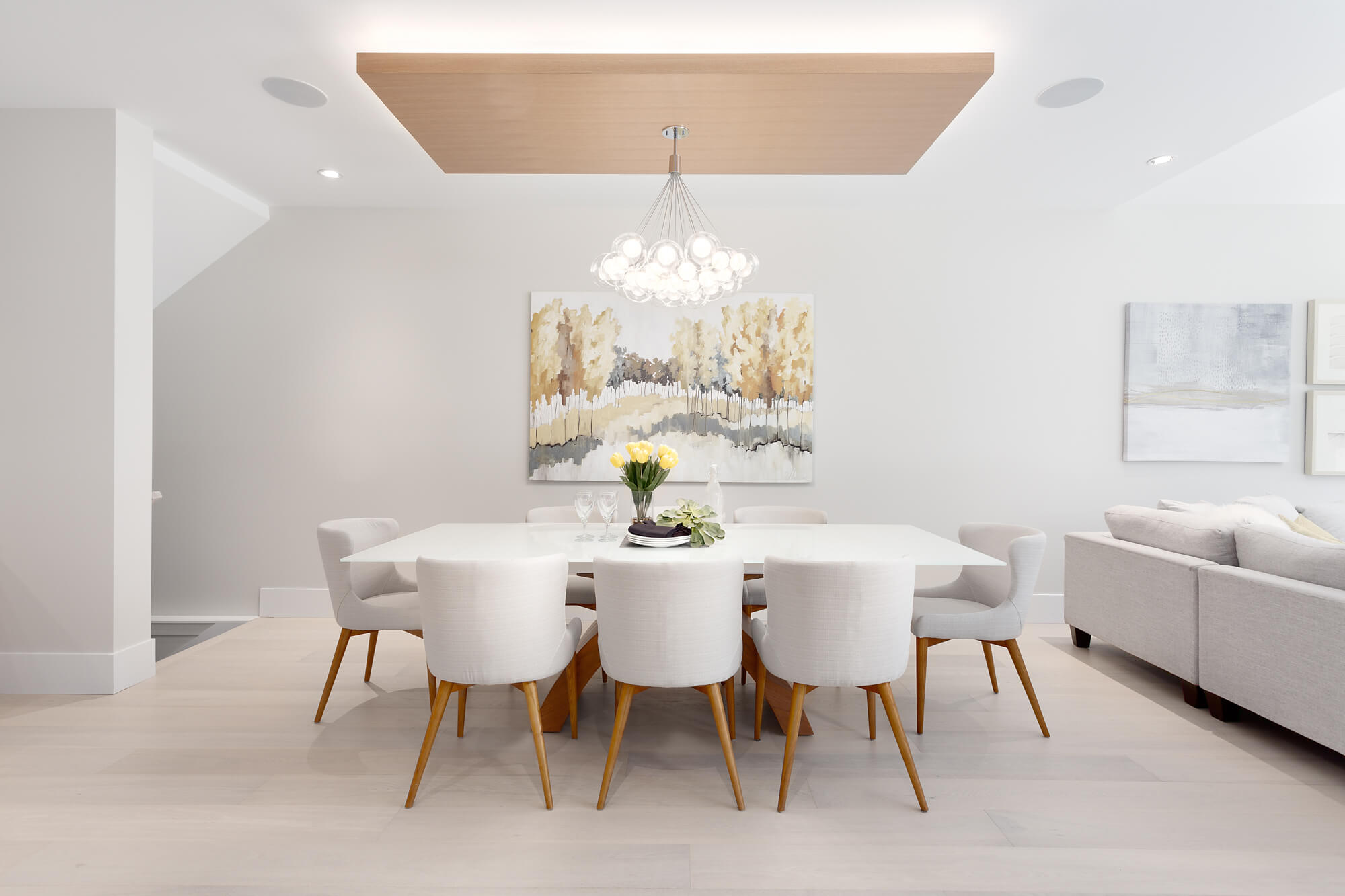 Unique Lighting for New Dining Room