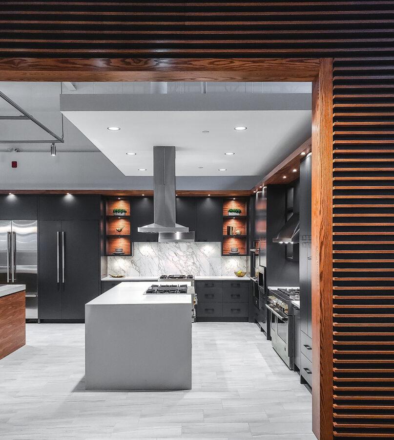 Jennair Showroom Example | Kitchen Art Design