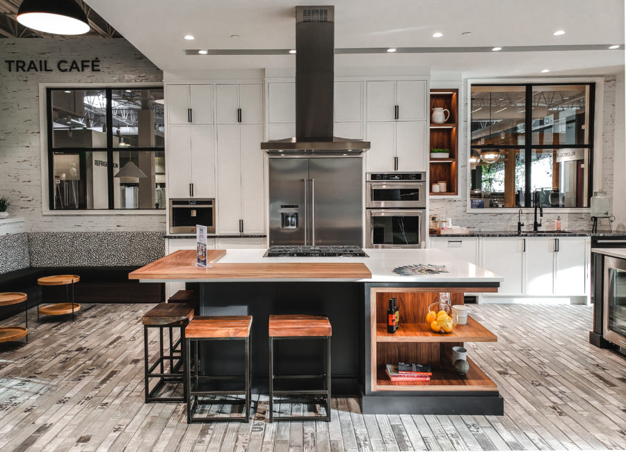 The Connection Between Appliances & Kitchen Design, featuring Trail Appliances Cloverdale 2