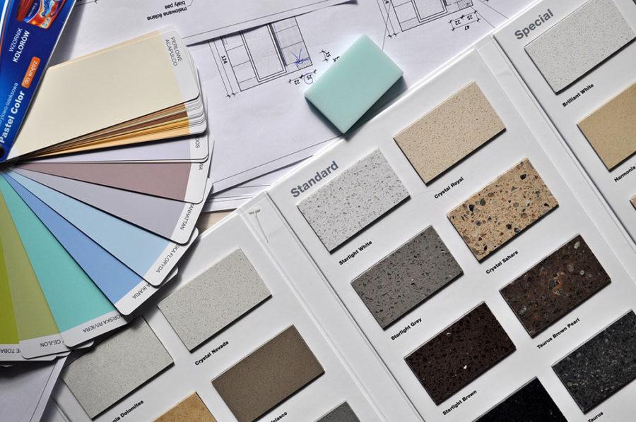 Interior Paint Swatches | Kitchen Art Design