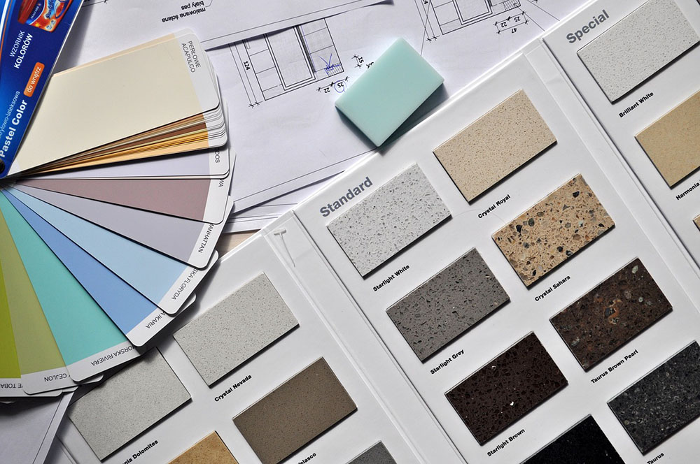 Interior Paint Swatches | Kitchen Art Design