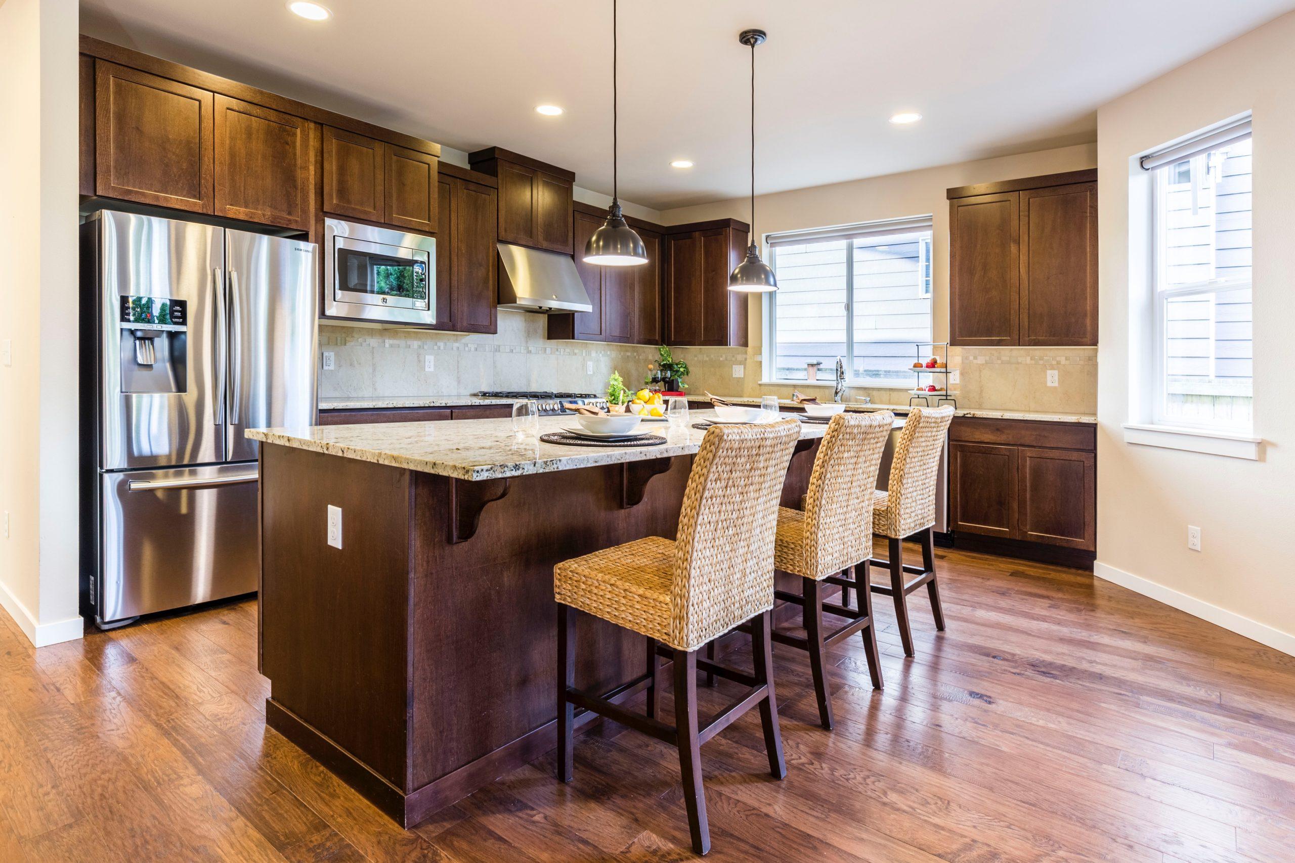 Understanding the Kitchen Cabinet Layout in Newer Homes | Kitchen Art Design