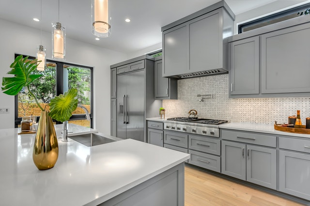 Grey Kitchen Cabinet Remodel Ideas | Kitchen Art Design