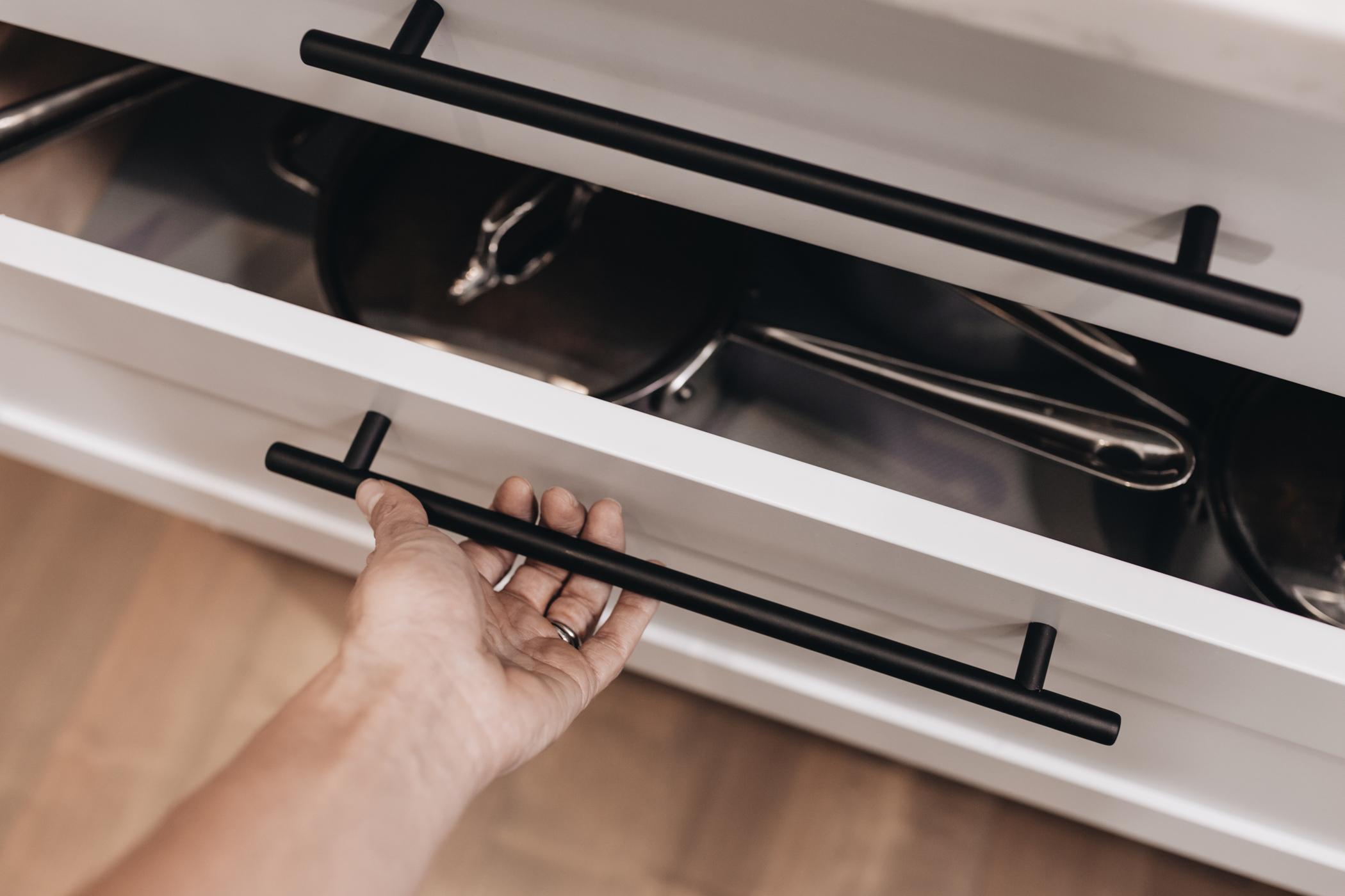Black Kitchen Handle | New Design Trends | Kitchen Art Design