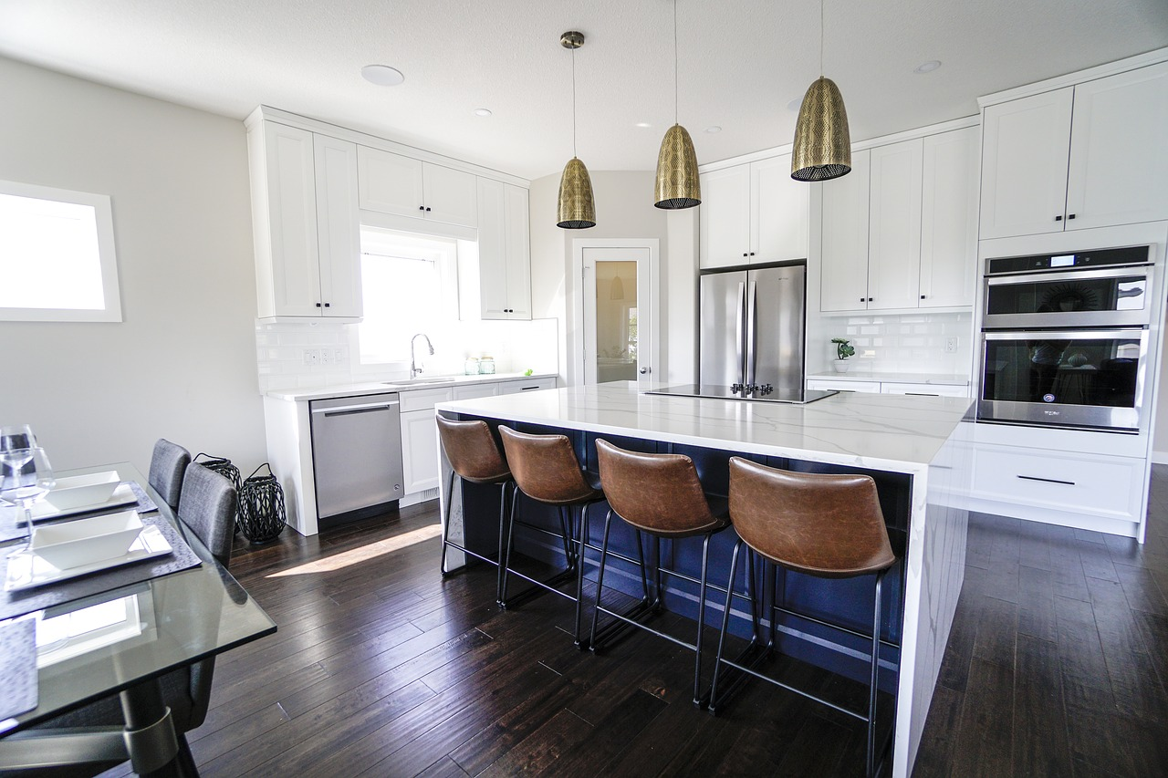 Select a Colour Palette for White Kitchen | Kitchen Art Design
